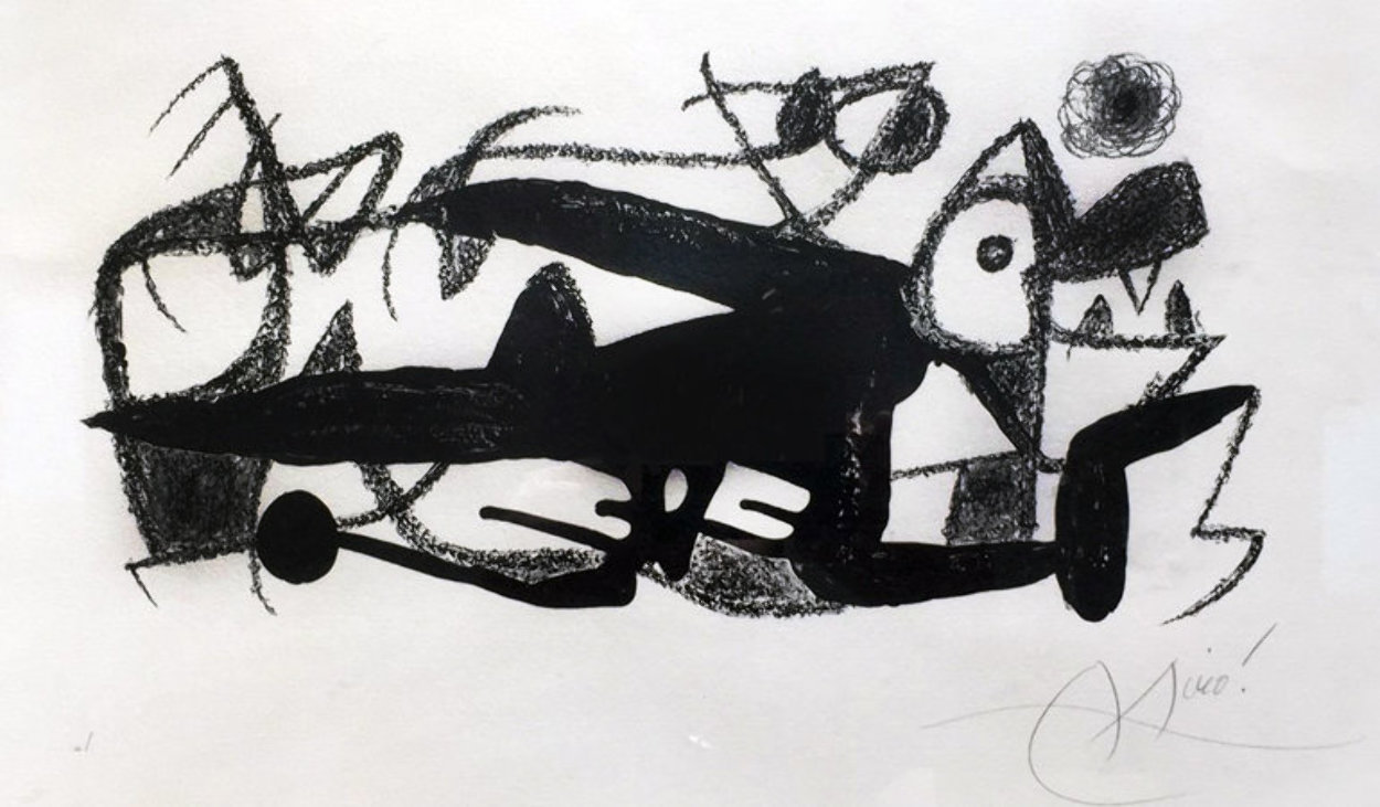 l' Escalateur 1975 HS  Limited Edition Print by Joan Miro