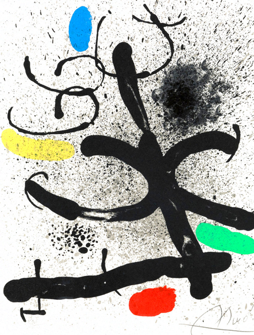 Cahier D'ombres 1971 HS Limited Edition Print by Joan Miro