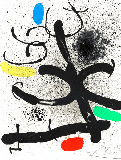 Cahier D'ombres 1971 Limited Edition Print - Joan Miro