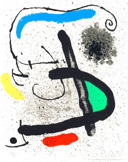 Cahier D'ombres 1971 HS Limited Edition Print - Joan Miro