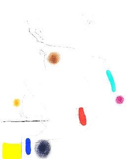 Grave Sur Le Givre I 1972 HS Limited Edition Print - Joan Miro