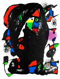 Untitled Print, M 1259  1970 HS Limited Edition Print - Joan Miro
