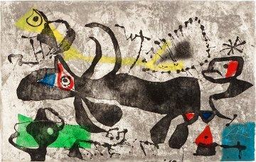 Els Gossos IV  1979 HS Limited Edition Print - Joan Miro