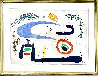 Dormir Sous La Lune 1969  (Sleeping Under the Moon) HS Limited Edition Print by Joan Miro - 1