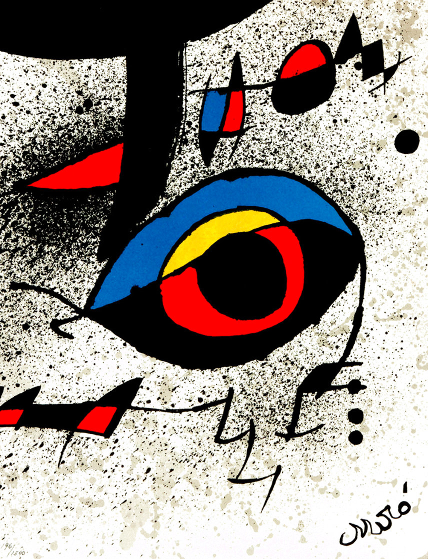 United Nations Peace Keeping Operations 1980 Limited Edition Print by Joan Miro