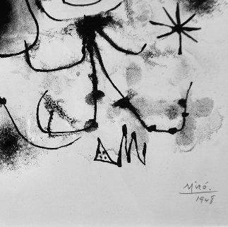 Album 13: Plate 1 1948 HS Limited Edition Print - Joan Miro