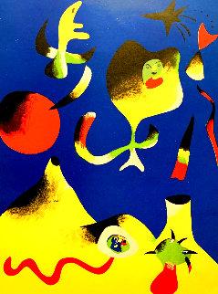 Air 1937 Limited Edition Print - Joan Miro