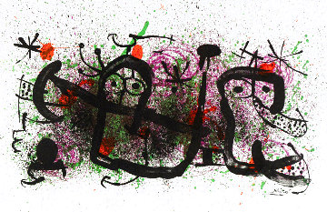 Proverbs Limited Edition Print - Joan Miro