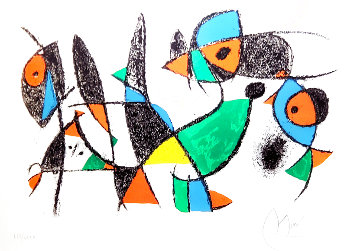 Little Animals 1975 HS Limited Edition Print - Joan Miro
