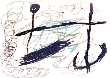 Obra Inedita Recent 1964 HS Limited Edition Print - Joan Miro