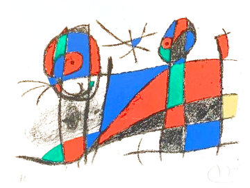 Untitled, From Joan Miro Lithographs IV HS Limited Edition Print - Joan Miro