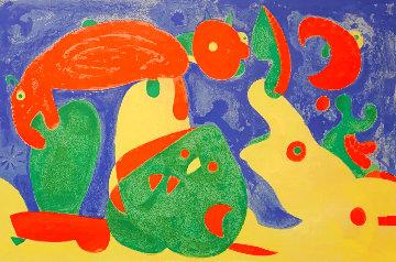 Ubu Roi Diptych M.490, M.491 1966 (Set of 2) Limited Edition Print - Joan Miro