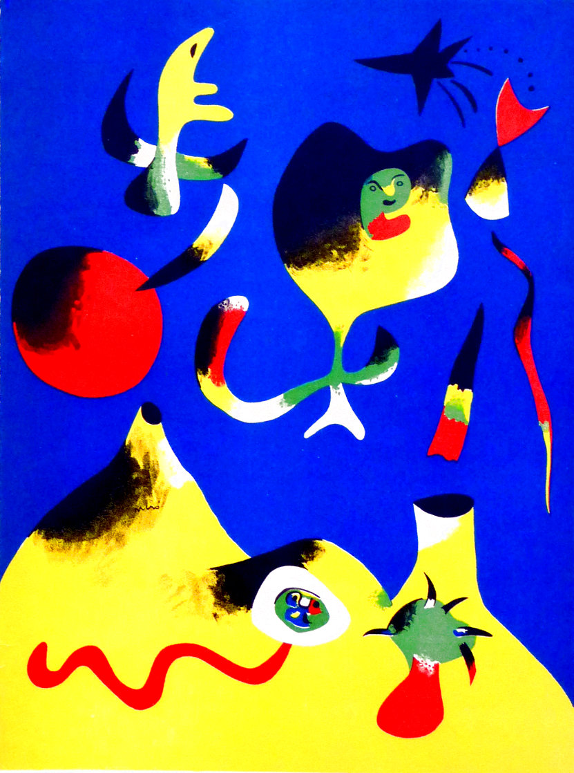 l'air 1937 Limited Edition Print by Joan Miro