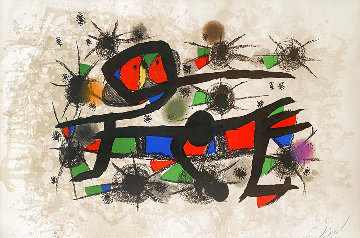 Peinture = Poesie 1976 HS Limited Edition Print - Joan Miro