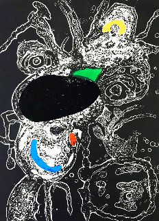 Untitled Etching 1975 HS Limited Edition Print - Joan Miro