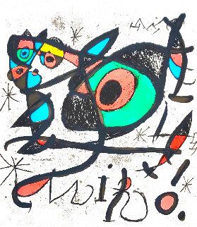 Sobreteixims I Escultures 1972 HS Limited Edition Print - Joan Miro