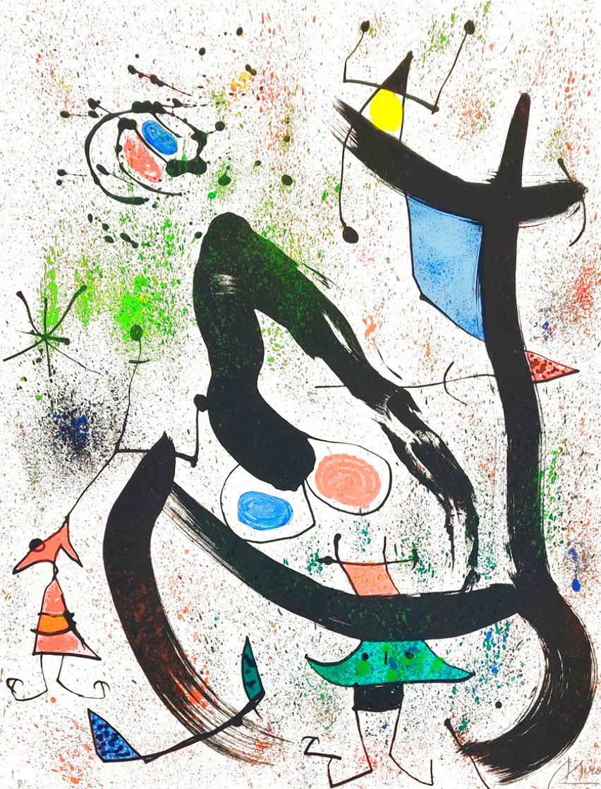 Seers IV (Les Voyants) 1970 HS Limited Edition Print by Joan Miro