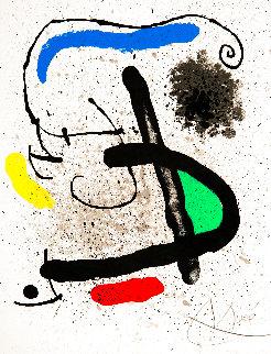 Cahir D'hombres, Set of 4 Prints 1981 HS Limited Edition Print - Joan Miro