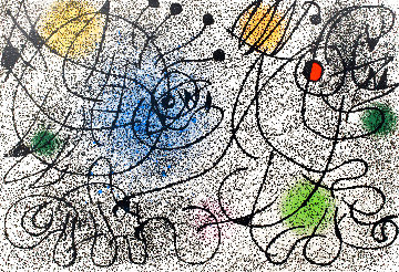 International Rescue Committee  EA 1966  HS Limited Edition Print - Joan Miro