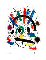 Miró Lithographe I (Maeght 858) 1972 HS Limited Edition Print by Joan Miro - 1