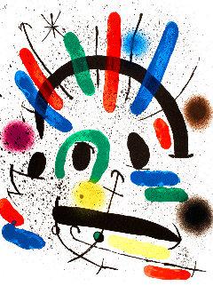 Miró Lithographe I (Maeght 858) 1972 HS Limited Edition Print - Joan Miro