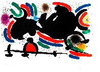 Miró Lithographe I (Maeght 860) 1972 HS Limited Edition Print by Joan Miro - 1