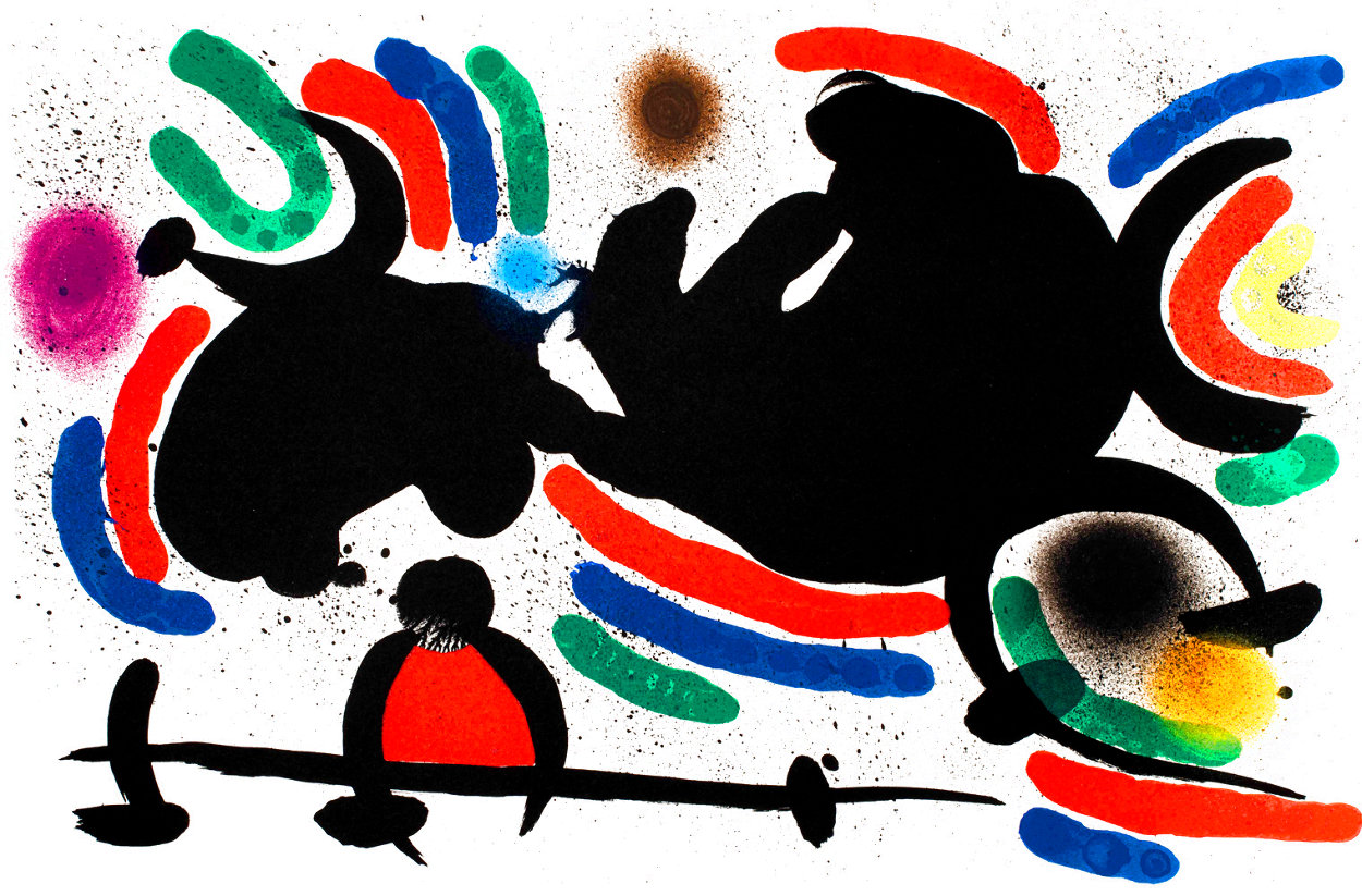 Miró Lithographe I (Maeght 860) 1972 HS Limited Edition Print by Joan Miro