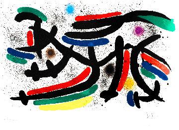Miro Lithographe I (Maeght 865) 1972 Limited Edition Print - Joan Miro