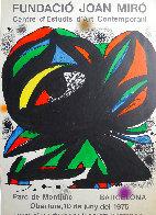 Fundació Joan Miró' Barcelona Exhibition Poster 1975  Limited Edition Print by Joan Miro - 1