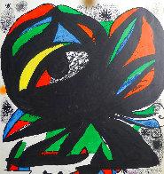 Fundació Joan Miró' Barcelona Exhibition Poster 1975  Limited Edition Print by Joan Miro - 2