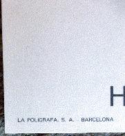 Fundació Joan Miró' Barcelona Exhibition Poster 1975  Limited Edition Print by Joan Miro - 3