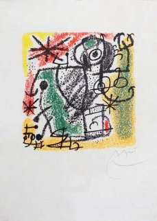 Essences of the Earth 1968 Limited Edition Print by Joan Miro