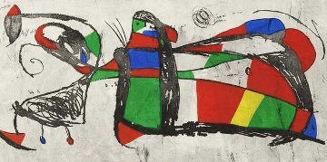 Tres Joans 1978 Limited Edition Print by Joan Miro