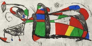 Tres Joans 1978 Limited Edition Print - Joan Miro