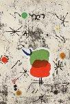 Serie Personatges I Estels: Plate 1 1979 Limited Edition Print - Joan Miro