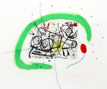 Preparatifs D'oiseau IV (Dupin 368) 1963 Limited Edition Print by Joan Miro