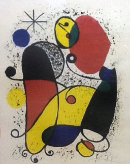 Chevalier Dans Le Foret Limited Edition Print by Joan Miro