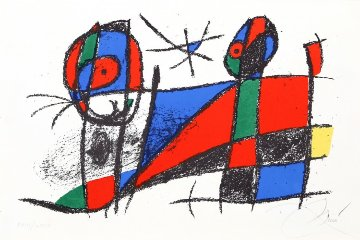 Lithograph VI (M. 1042) 1972 Limited Edition Print by Joan Miro