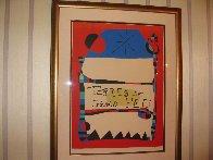 Terres De Grand Feu HS Limited Edition Print by Joan Miro - 1
