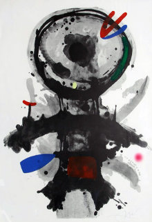 l'Ange Crible 1973 Limited Edition Print by Joan Miro