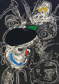 Espriu  Plate 3 1975 Limited Edition Print by Joan Miro