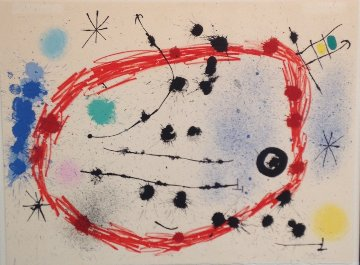 Broken Circle 1964 Limited Edition Print - Joan Miro