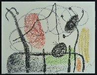 Plate Xix, From: Album 21, 1978 HS Limited Edition Print by Joan Miro - 2
