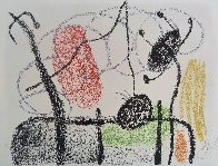 Plate Xix, From: Album 21, 1978 HS Limited Edition Print by Joan Miro - 0