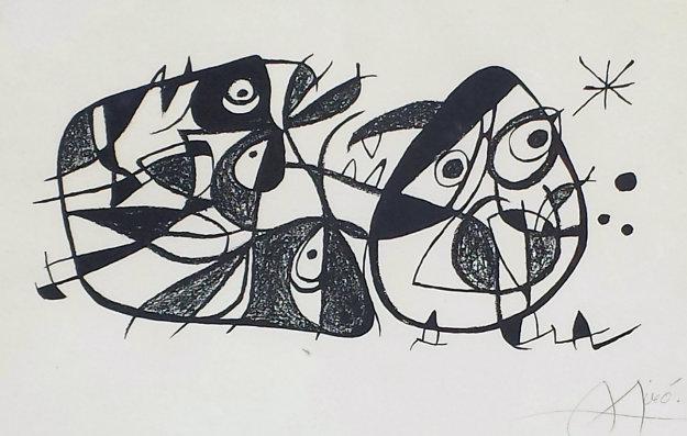 Miro Sultore 1981 Limited Edition Print by Joan Miro