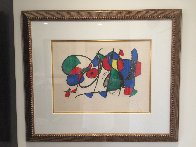 Lithograph VIII Volume II 1975 HS Limited Edition Print by Joan Miro - 1