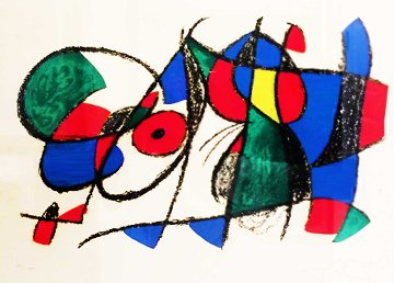 Untitled - Lithograph II, No. VII, M. 1044 1975  HS Limited Edition Print - Joan Miro