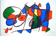 Lithograph VIII Volume II 1975 HS Limited Edition Print by Joan Miro - 3