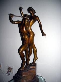 Violinist Sculpture - Misha Frid