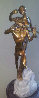 Violinist Bronze Sculpture 1999 26 in Sculpture by Misha Frid - 0